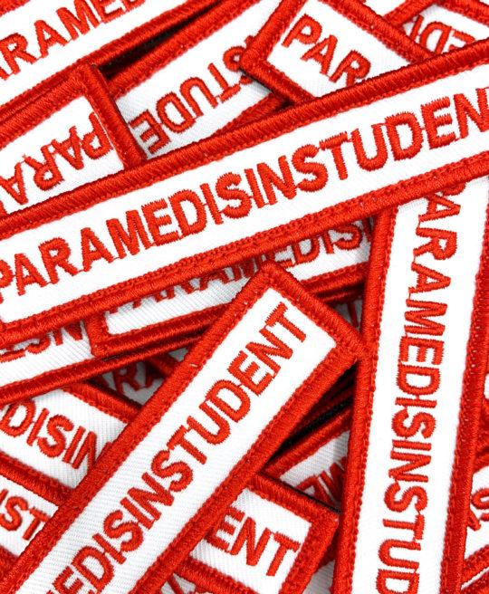 Tøymerker for Paramedisinstudent, fra Cingulum AS