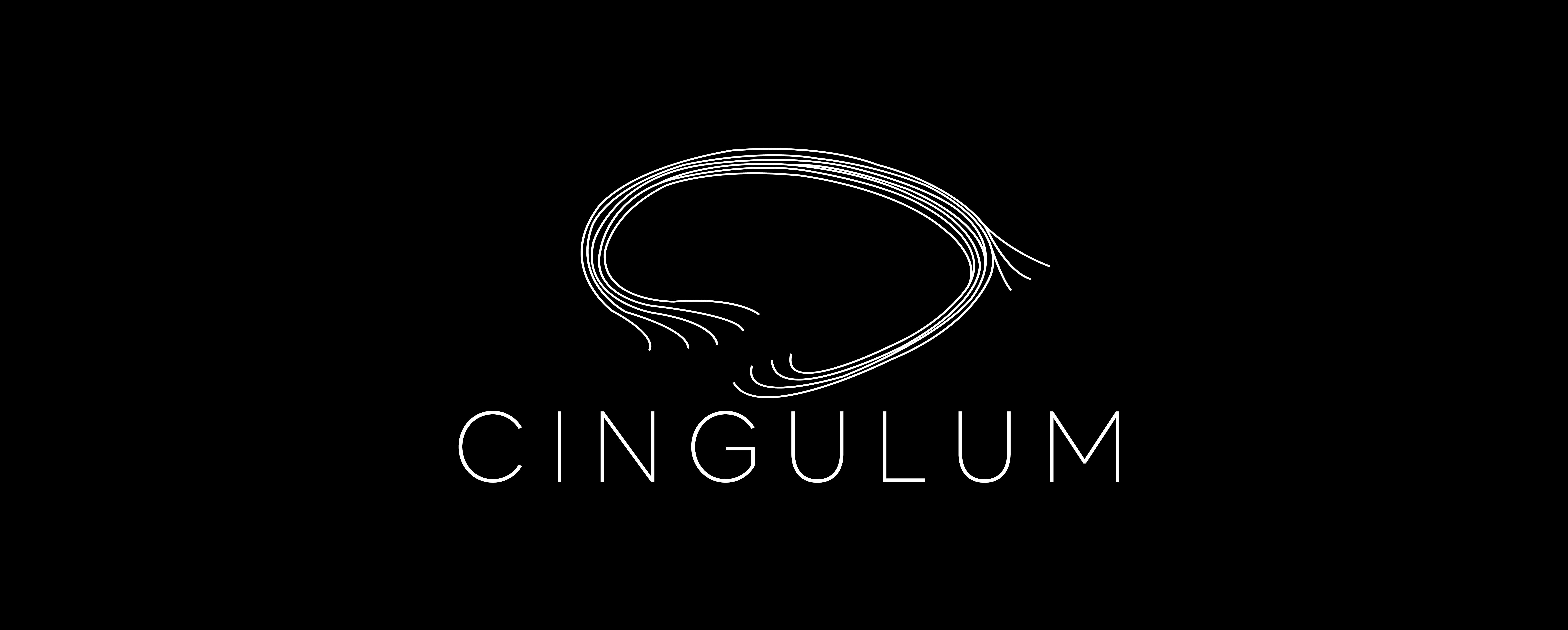Bilde av Cingulum sin logo på sort bakgrunn