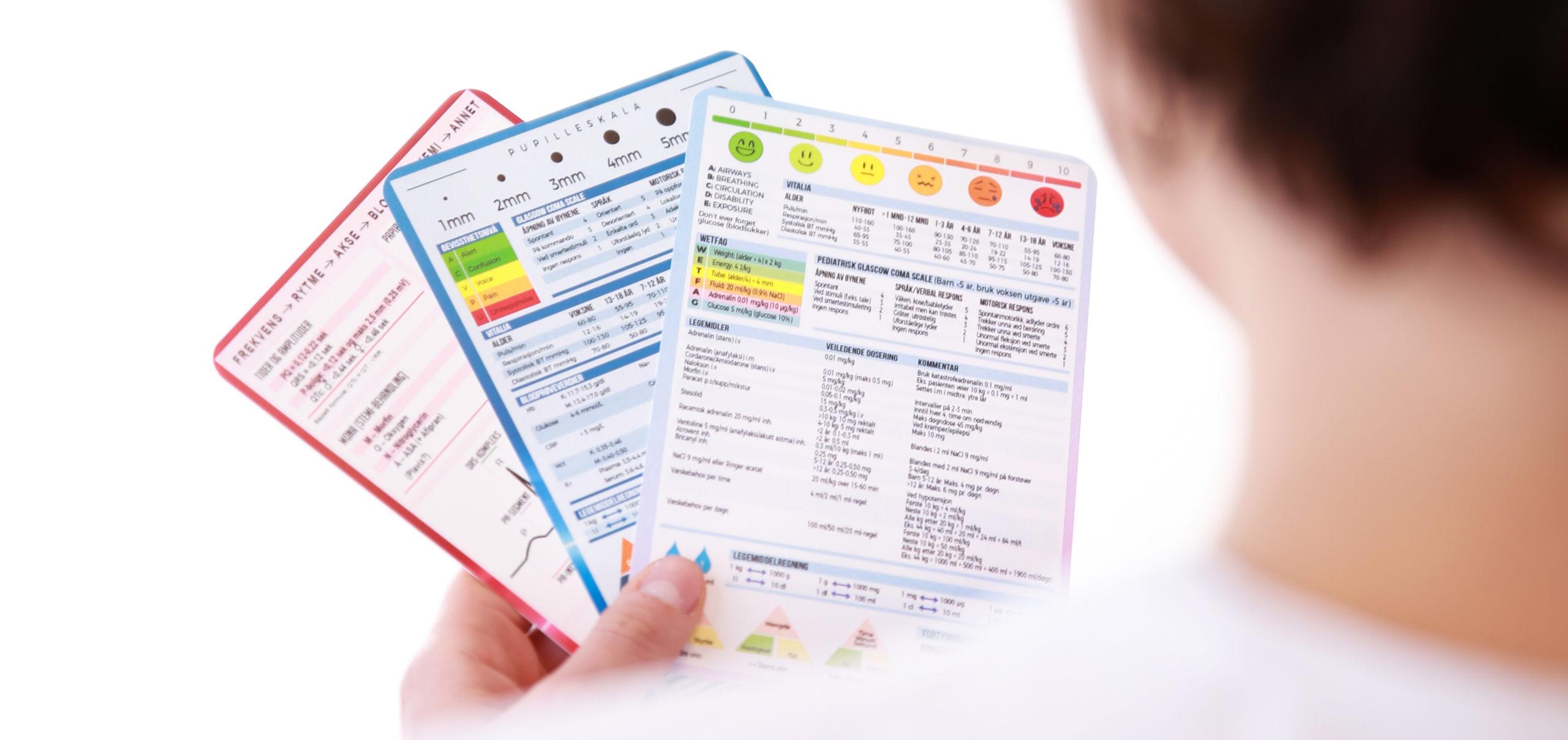 Bilde av Den ultimate referansepakken fra Cingulum med medisinske referansekort