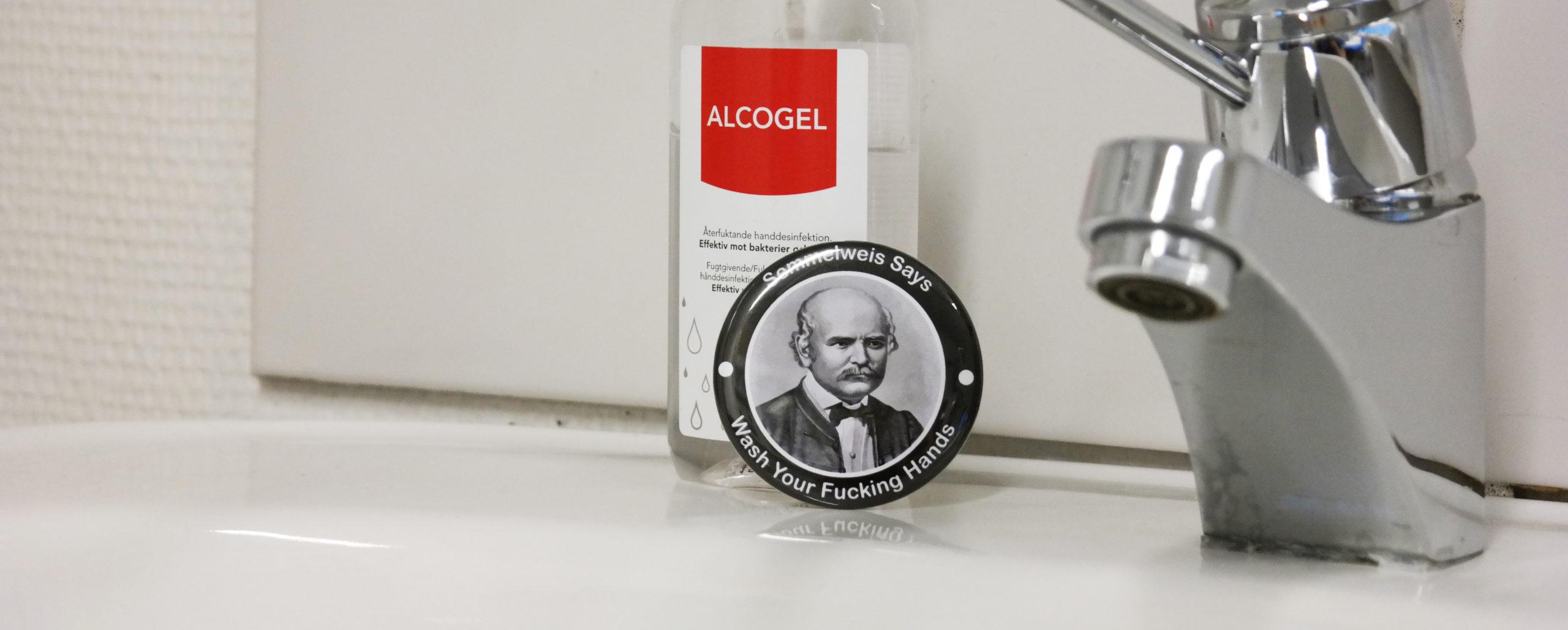 Bilde av Semmelweis button fra Cingulum