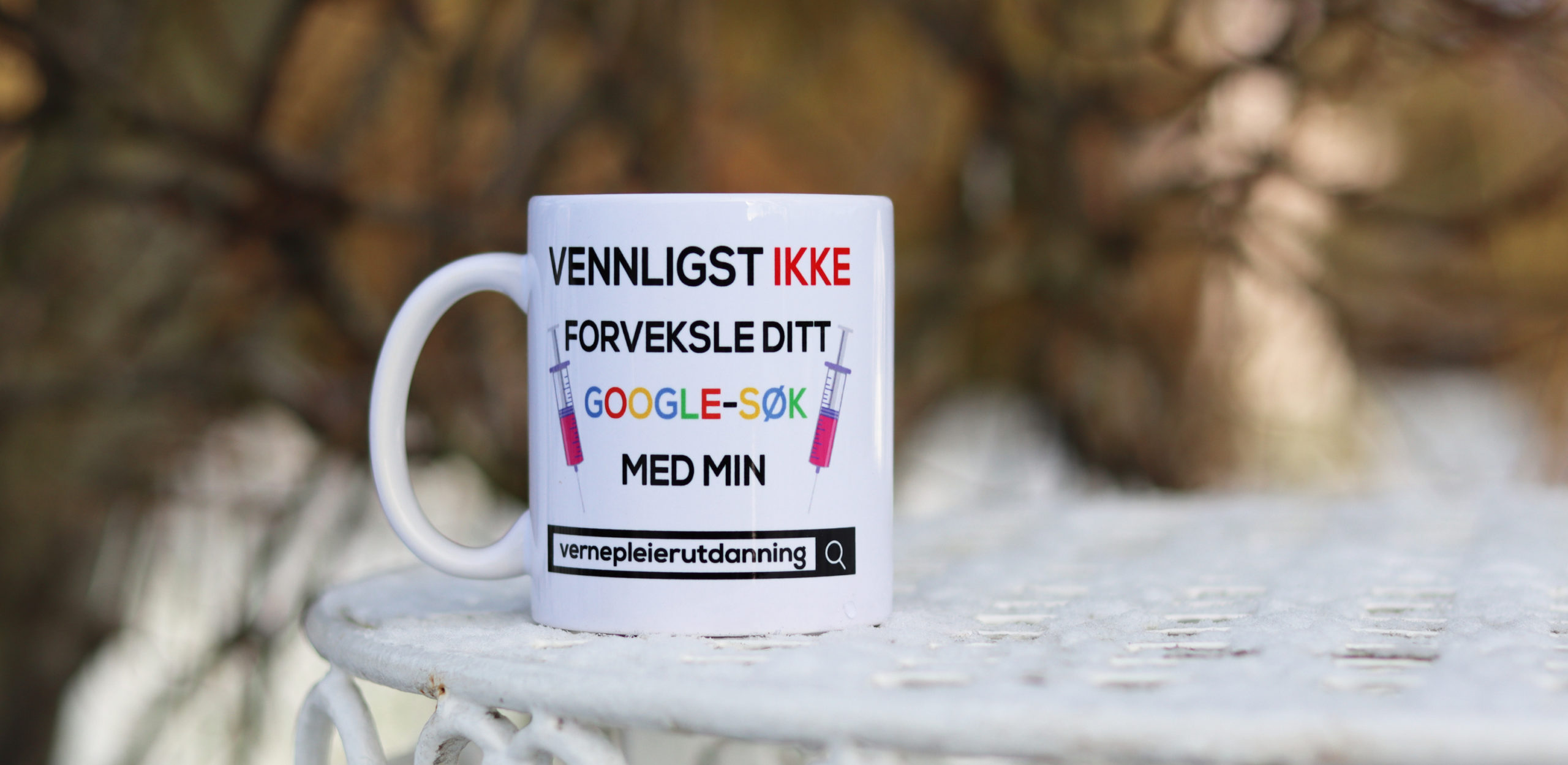 Bilde av vernepleier-kaffekrus fra Cingulum