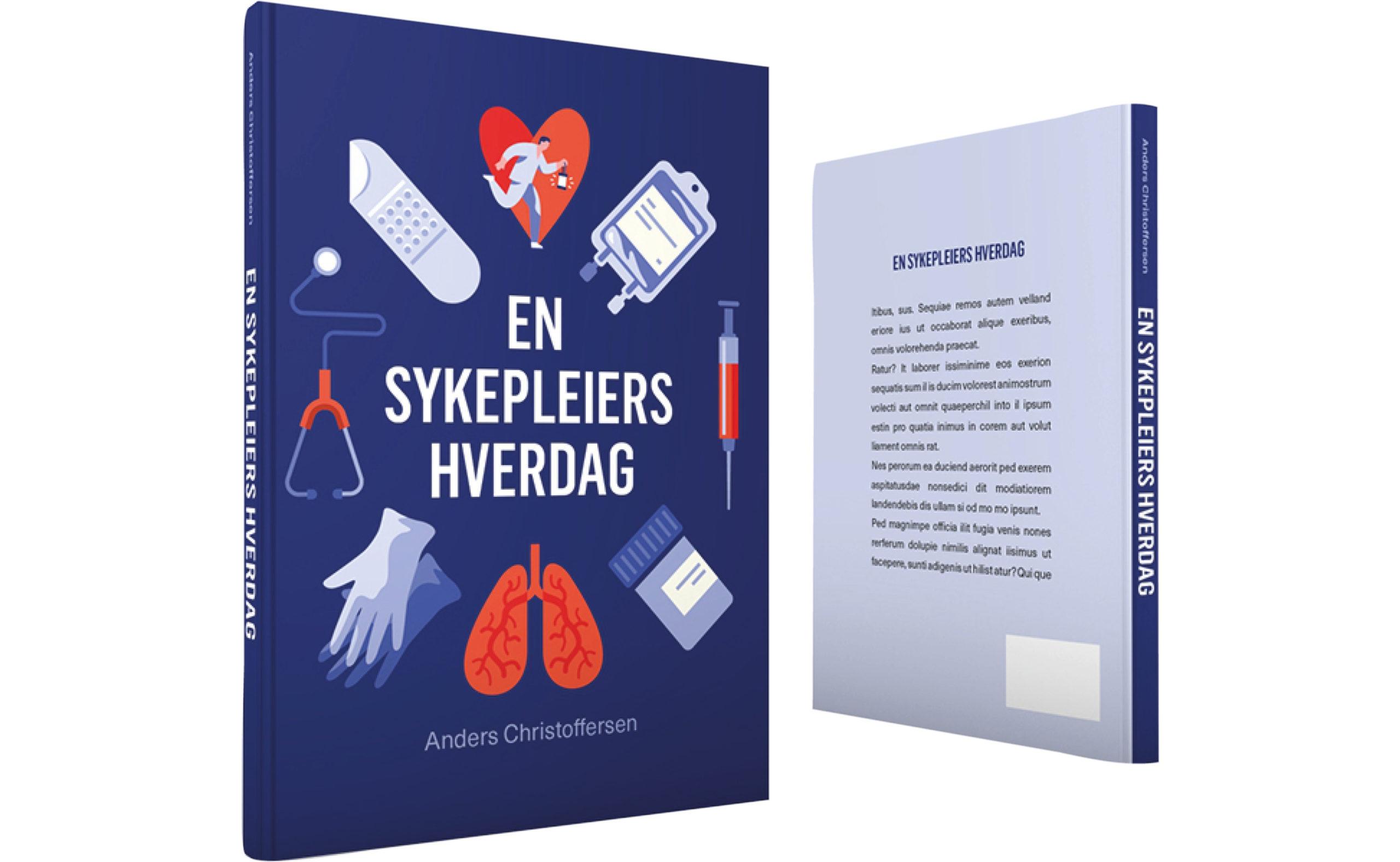 Bilde av boken En sykepleiers hverdag, forfatter Anders Christoffersen, fra Cingulum AS