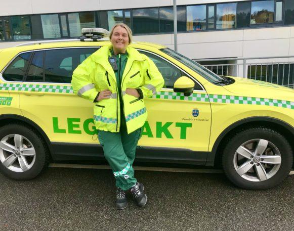 Bilde av Nathalie Sandal som er sykepleier på legevakten i Stavanger
