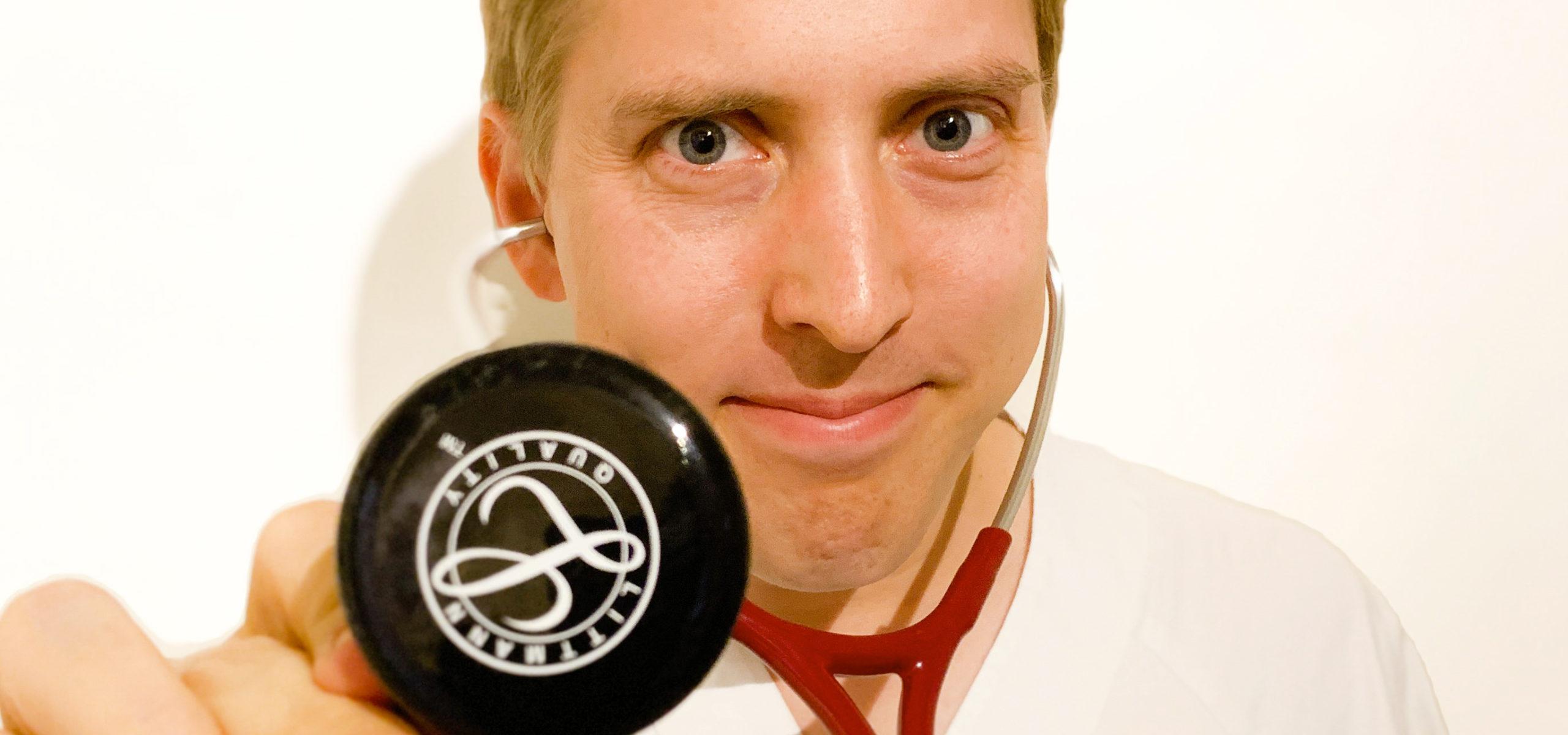 Bilde av Anders Christoffersen, faglig ansvarlig i Cingulum, sykepleier og lege