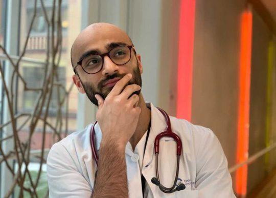 Bilde av Arham Sheikh, medisinstudent i Norge, Cingulum