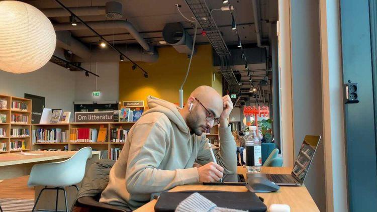 Bilde av Arham Sheikh som studerer medisin, Cingulum
