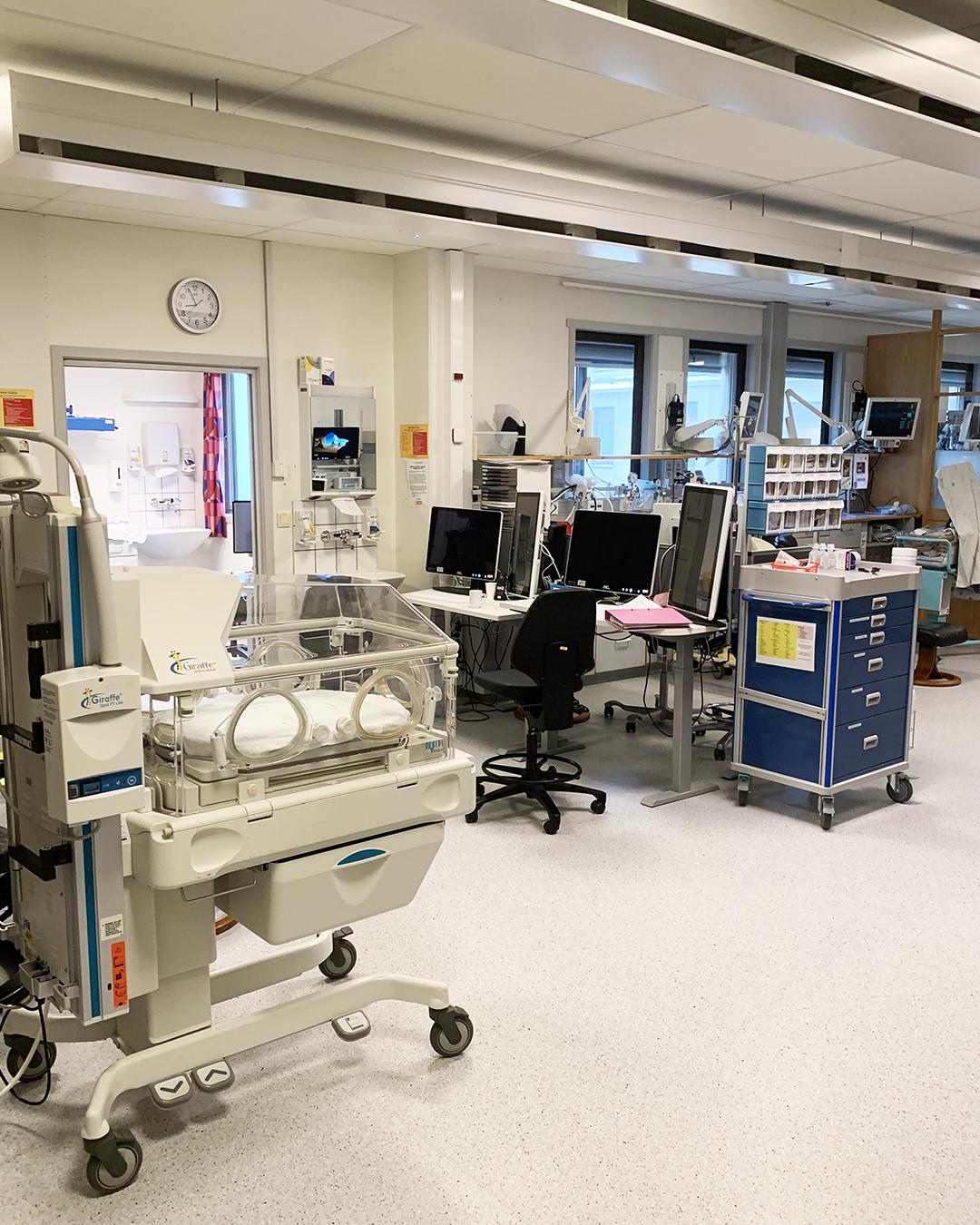 Bilde av nyfødt intensivavdelingen, Cingulum