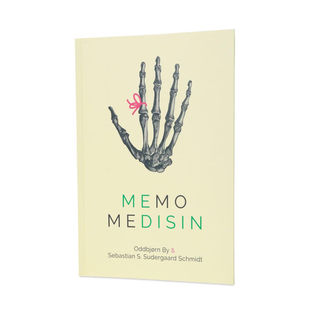Boka Memo Medisin er en teknikk for å huske bedre, og her får du tips fra Oddbjørn By og Sebastian S. Sudergaard Schmidt., Cingulum