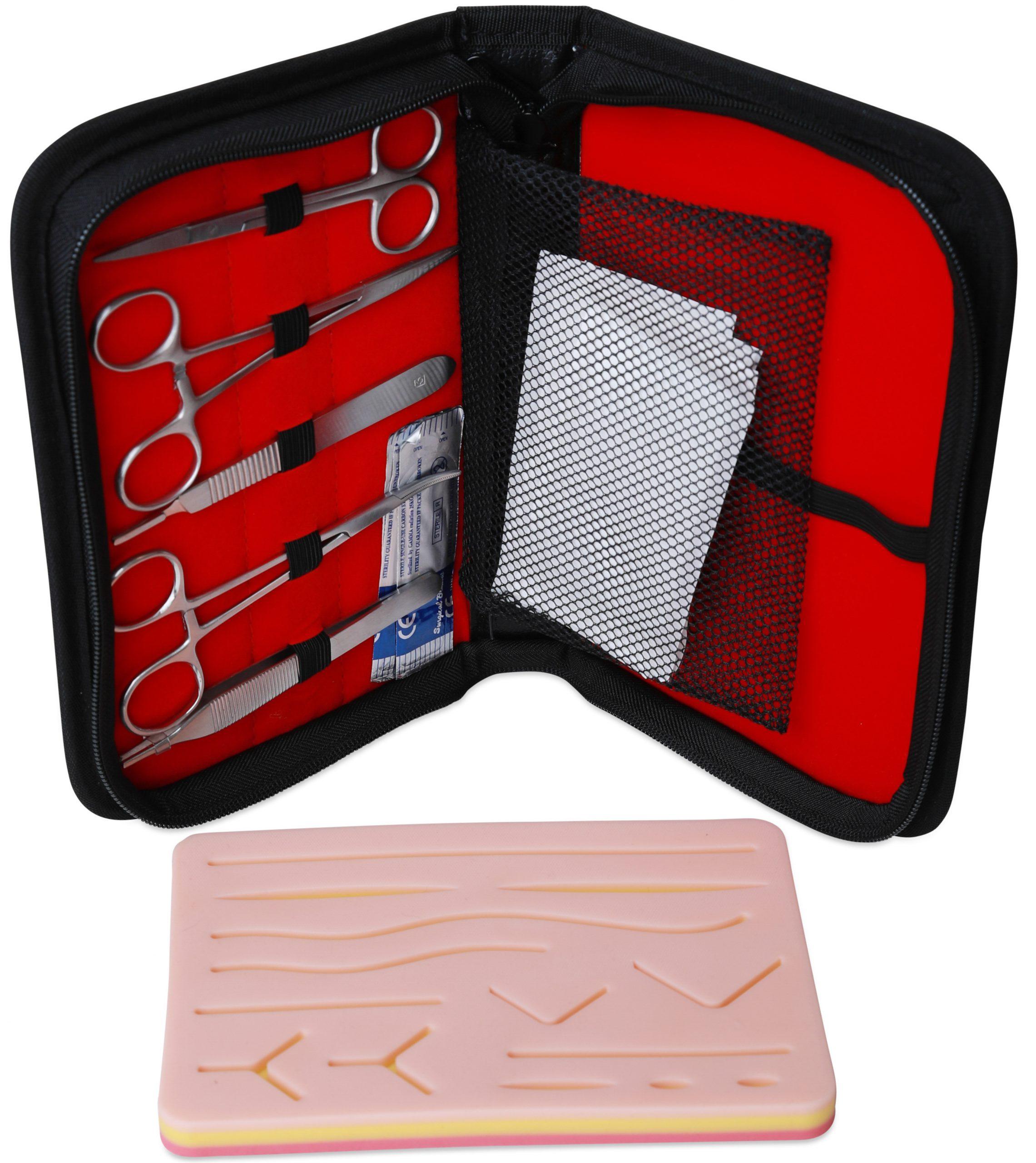 Suturkit-kirurgi-trene-på-suturering-cingulum