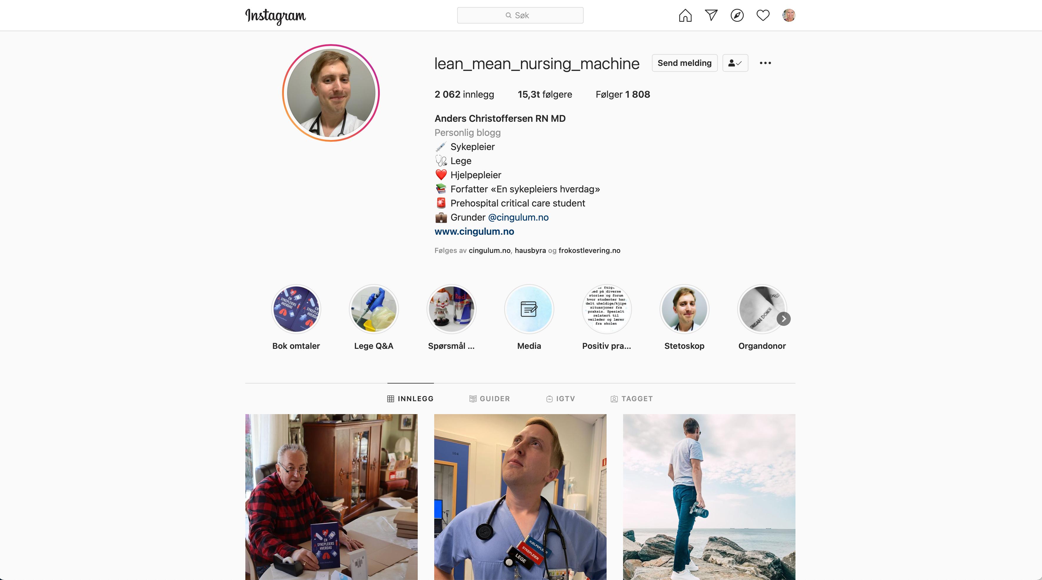 anders-christoffersen-instagram-lean-mean-nursing-machine-skjermdump